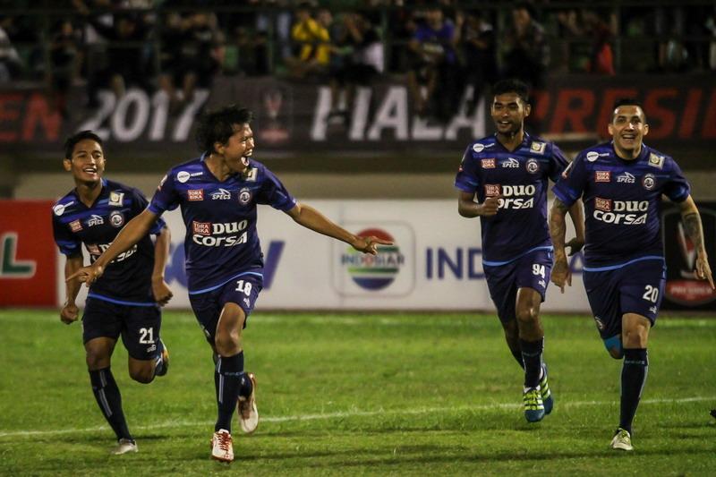 Arema FC.(Foto: Antara)