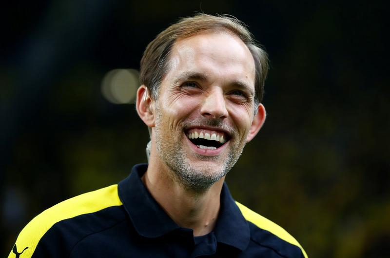 Tuchel tak tertarik latih Arsenal. (Foto: REUTERS/Thilo Schmuelgen)