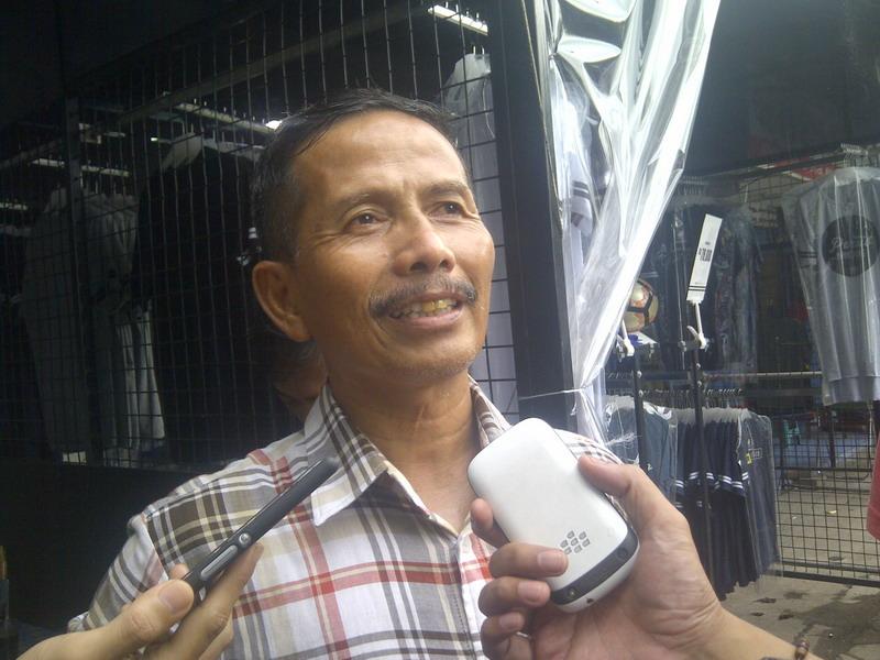 Djanur yakin Indonesia kalahkan Myanmar. (Foto: Oris/Okezone)