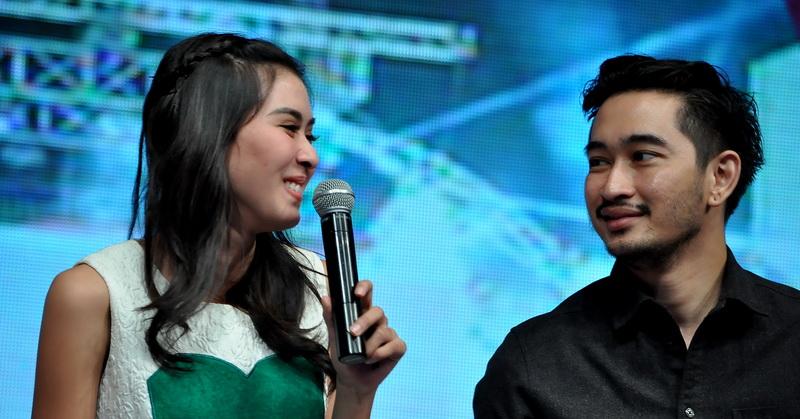 Syahnaz dan Jeje (Foto: Sabki/Okezone)