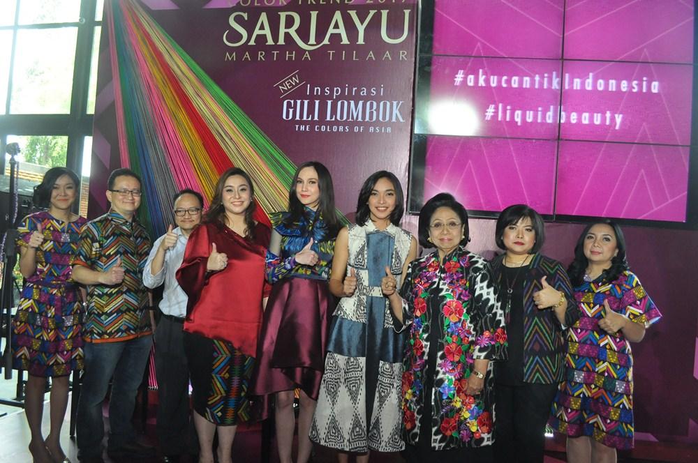 Terinspirasi Keindahan Alam Indonesia, Sariayu Luncurkan Color Trend 2017