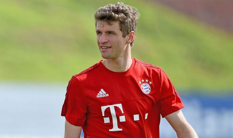 Pemain Bayern Munich, Thomas Muller (Foto: Daily Express)