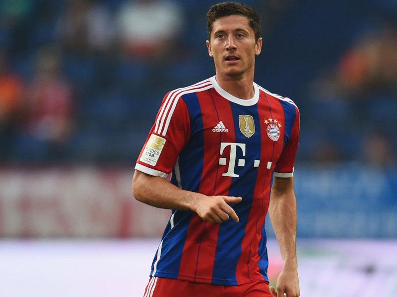 Pemain Bayern Munich, Robert Lewandowski (Foto: Sky Sports)