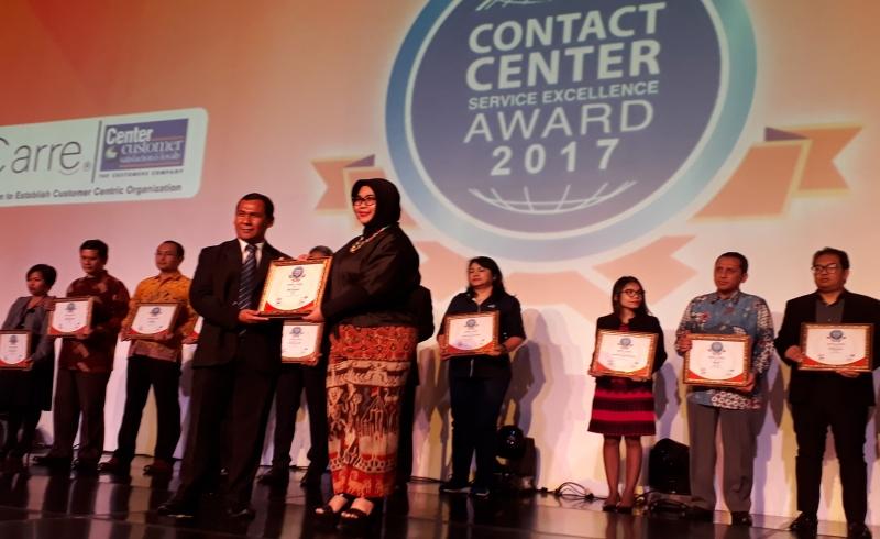 \Indovison Berhasil Raih Penghargaan Call Center Terbaik\