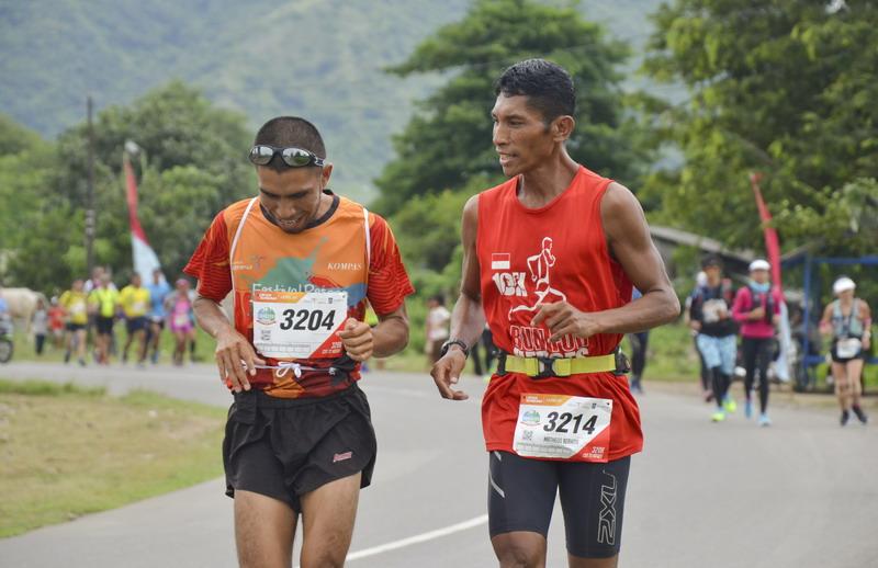 Ilustrasi lomba lari marathon. (Foto: ANTARA/Ahmad Subaidi)