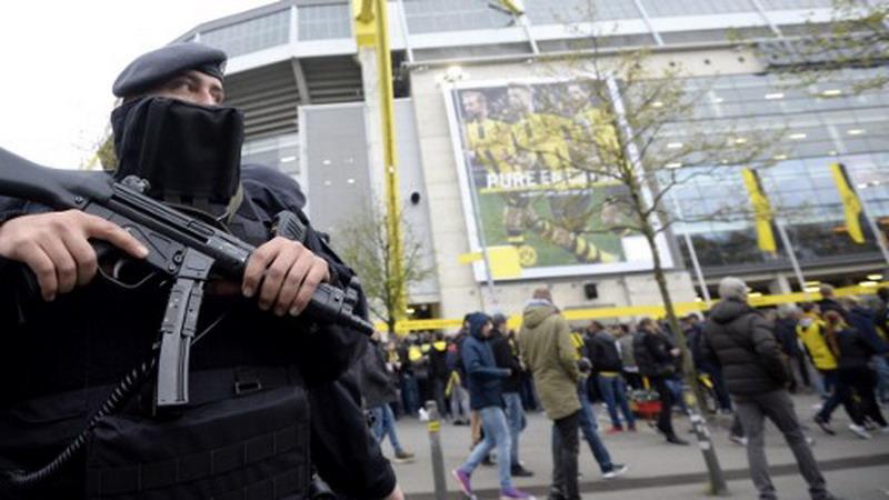Pengamanan di Dortmund (Foto: AFP)