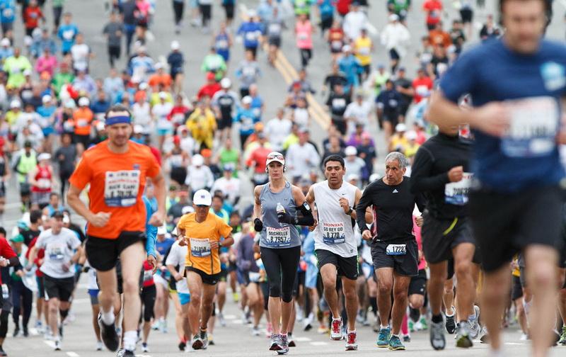 Foto Ilustrasi Lari Marathon (Foto: Pro Marathon)