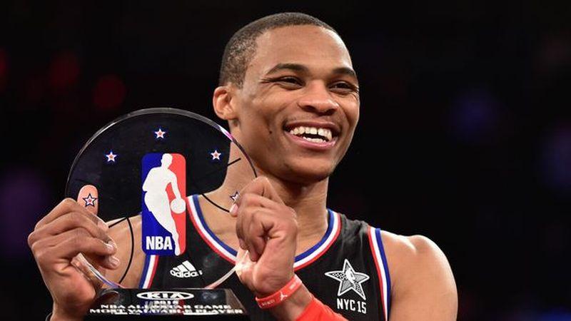 Pebasket NBA, Russel Westbrook (Foto: Reuters / Bob Donnan)
