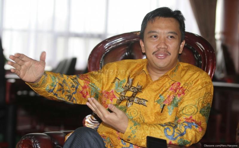 Menpora sebut target bagi kontingen Indonesia di ISG harus realistis. (Foto: Heru Haryono/Okezone)