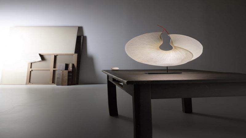 \Dipadukan dengan Kertas Jepang, Produk Lampu Ini Tampak Berkelas\
