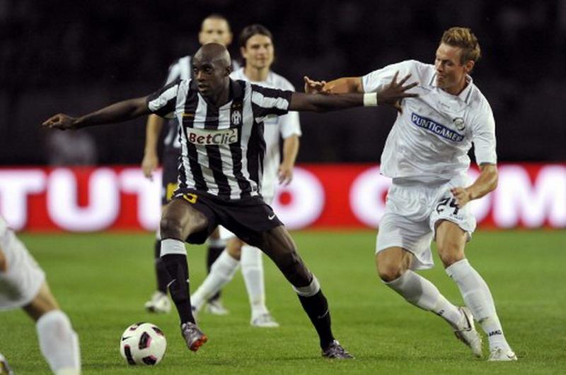 Sissoko saat membela Juventus. (Foto: AFP/Giuseppe Cacace)