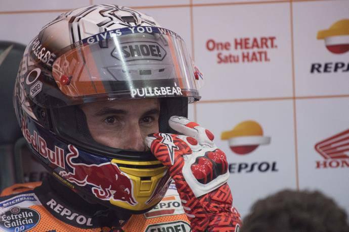 Pembalap Tim Repsol Honda, Marc Marquez (Foto: Getty Images)