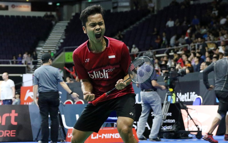 Anthony Ginting. (Foto: PBSI)