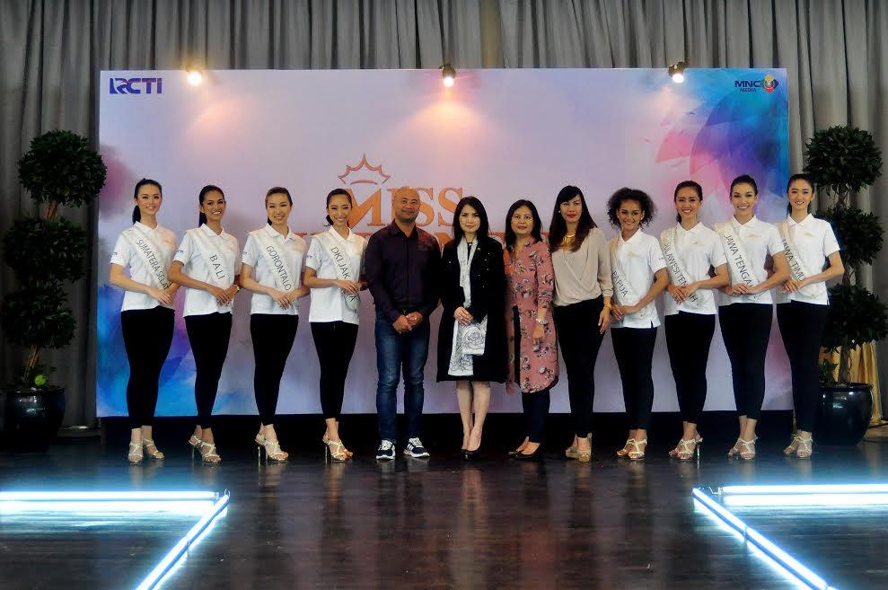 MISS INDONESIA 2017: Fast Track Catwalk, Cara Berjalan hingga Proporsi Tubuh Jadi Penilaian Utama