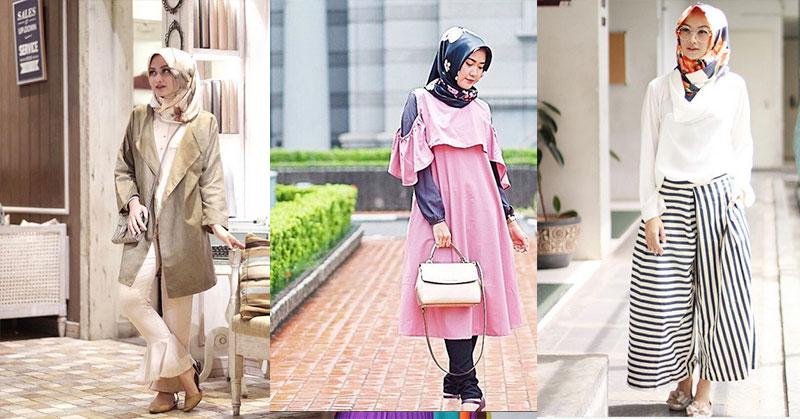 Padu Padan Jilbab Motif Bunga ala Dian Pelangi hingga Indah Nada Puspita