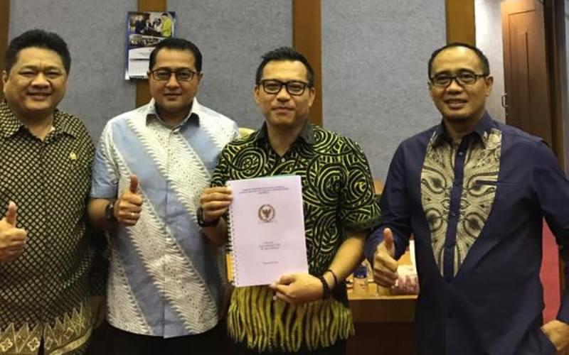 Anang Hermansyah (Tengah) (Foto: Dok.DPR)