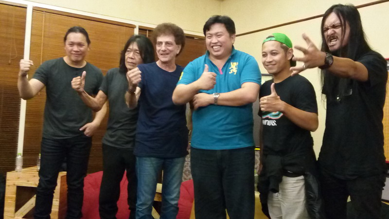 Ahmad Albar dan generasi band rock (Foto: Rima/Okezone)