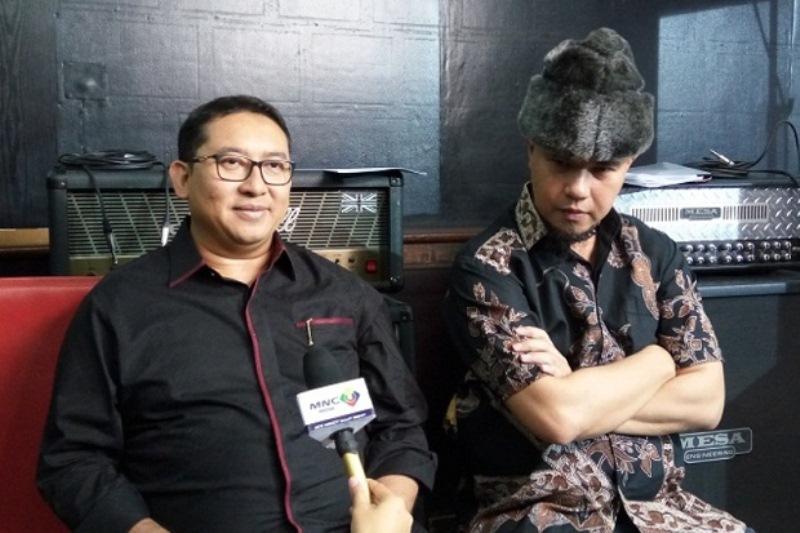 Fadli Zon dan Ahmad Dhani (Foto: Sindonews.com)