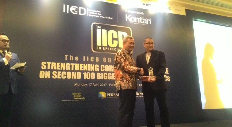 \MNC Kapital Raih Penghargaan Best Role of Stakeholder dari IICD\