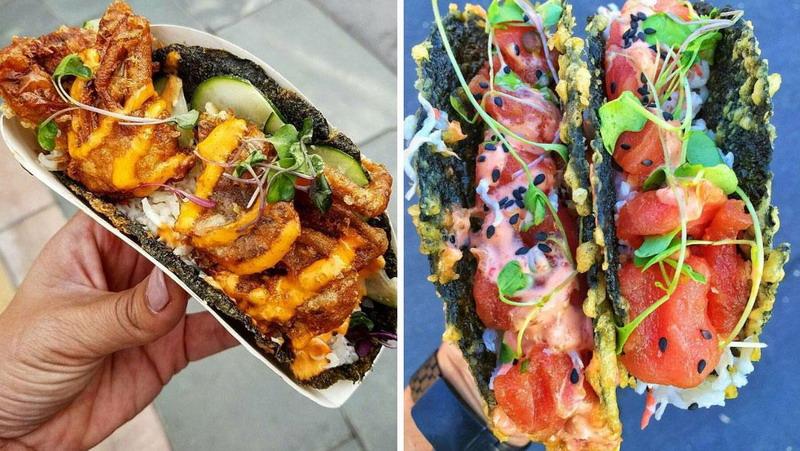 Ingin Menyantap Tacho dan Sushi Sekaligus? Cicipi Saja Makanan Ini