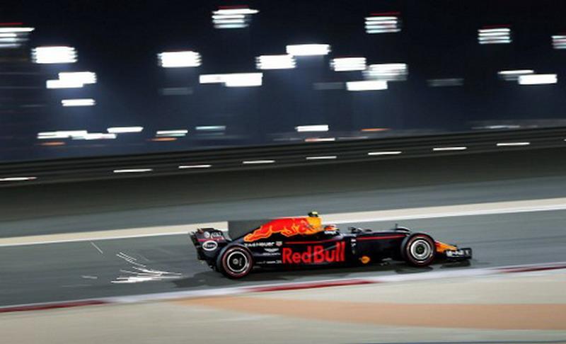 Max Verstappen di GP Bahrain (Foto: AFP)