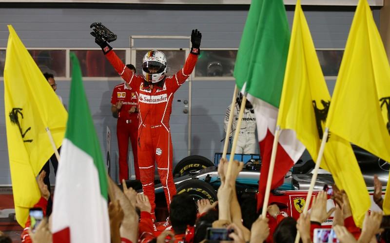 Sebastian Vettel. (Foto: F1 Fanatic)
