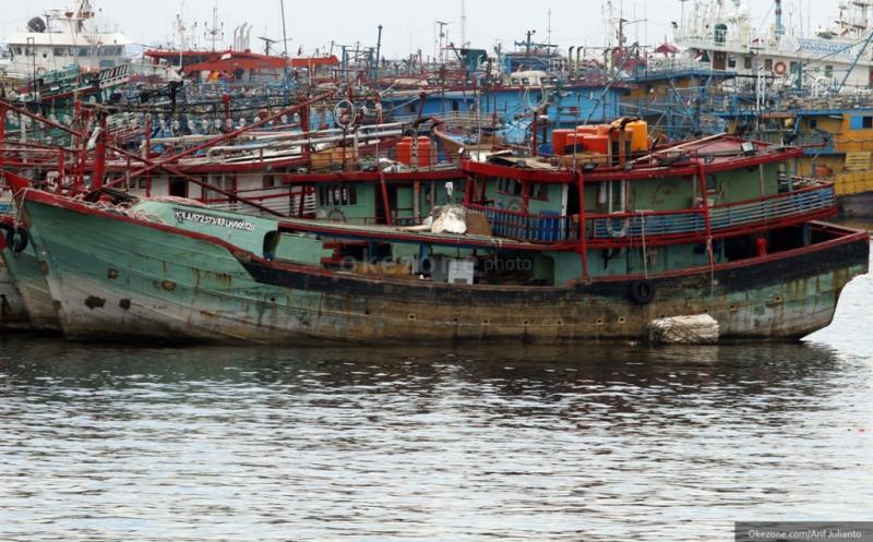 \Mangkrak, Kementerian Kelautan dan Perikanan Evaluasi Kapal Bantuan\