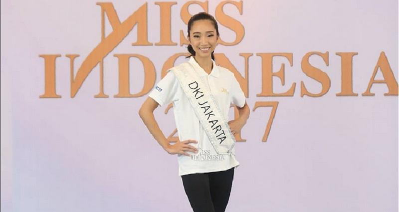 MISS INDONESIA 2017: Miss DKI Jakarta Terlihat Ayu dalam Balutan Kebaya
