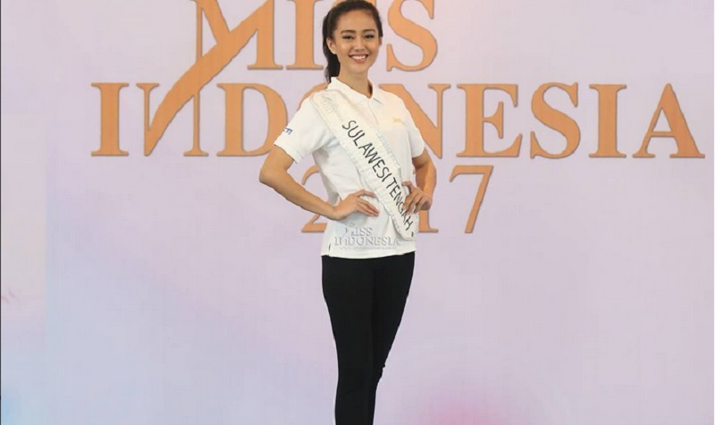 MISS INDONESIA 2017: Malam Puncak, Miss Sulawesi Tengah Berharap Jadi Pemenang