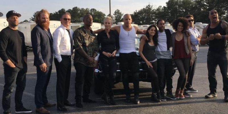 Cast Fast & Furious (Foto: Digitalspy)