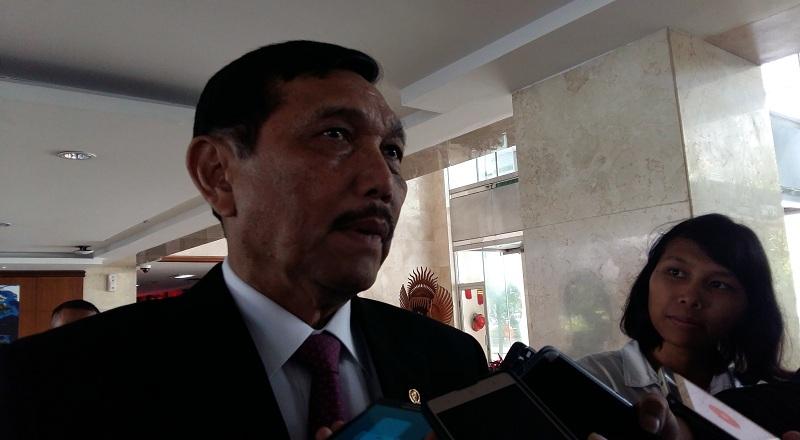\Pertemuan Jokowi-Mike Pence, Luhut: Freeport Disinggung Sedikit\