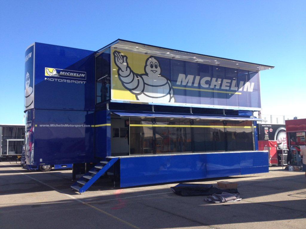 Ban Michelin (Foto: Twitter resmi Michelin)