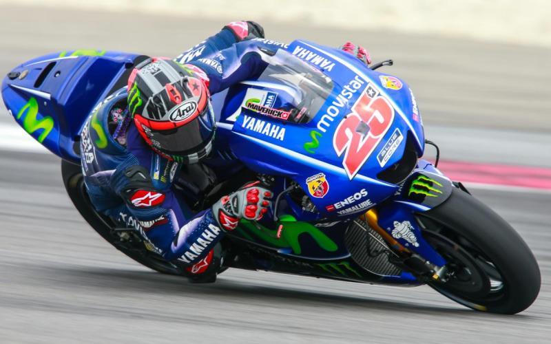 Maverick Vinales (Foto: laman resmi MotoGP)