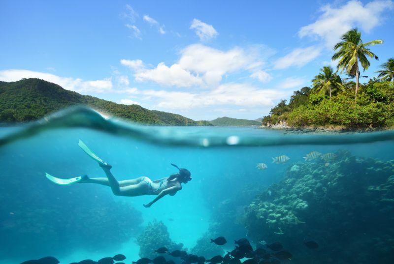 Pulau Petong, Surga Baru Snorkeling di Batam