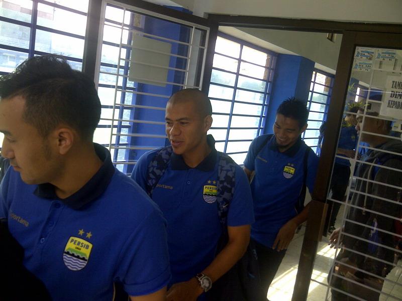 Persib pede kalahkan PS TNI. (Foto: Oris/Okezone)