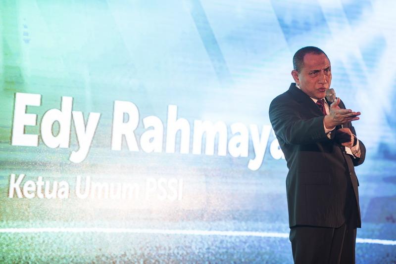 Edy Rahmayadi siap tanggung jawab terkait KITAS pemain asing. (Foto: ANTARA/M Agung Rajasa)