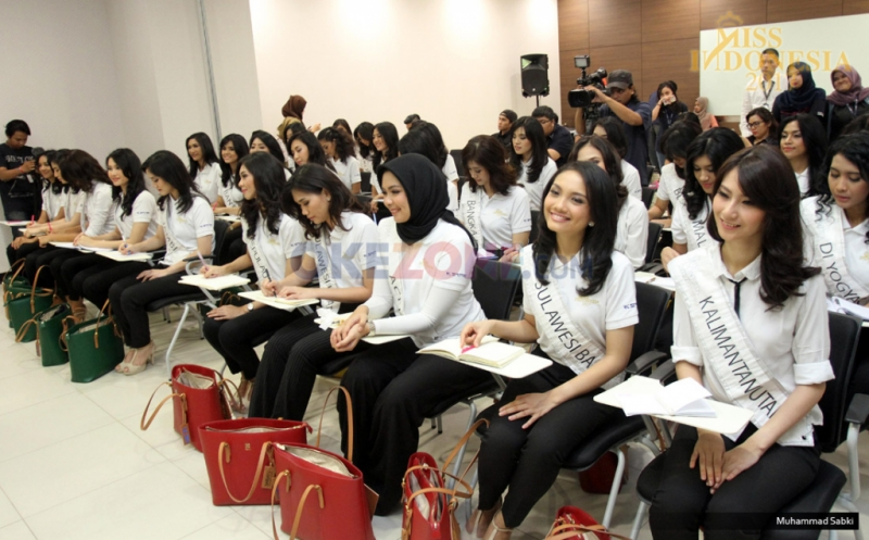 MISS INDONESIA 2017: Kunjungi MNC Media, Finalis Aceh Akui Dapat Ilmu Baru