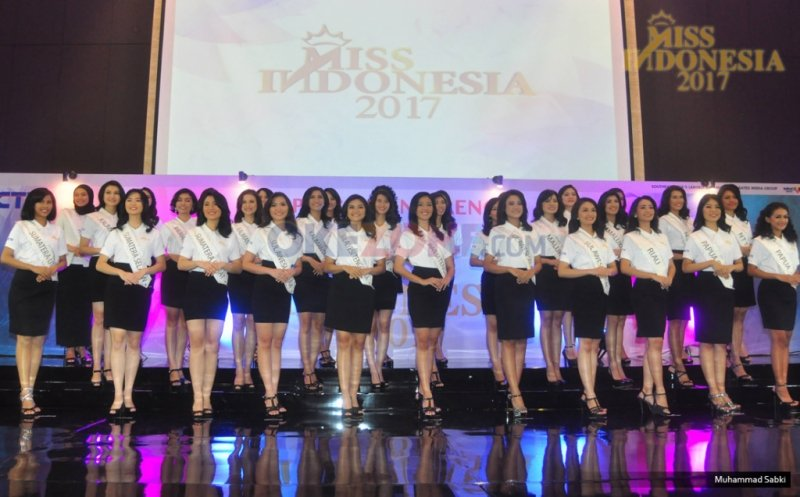 MISS INDONESIA 2017: Tinggal 2 Hari Lagi, Ayo Dukung Miss Favorit Anda!
