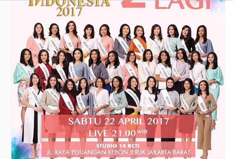 MISS INDONESIA 2017: 34 Finalis Bersaing Secara Sehat di Malam Final