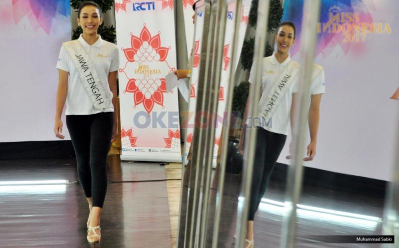 MISS INDONESIA 2017: Miss Jawa Tengah Akui Menikmati Masa-Masa di Karantina