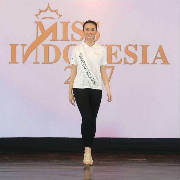 MISS INDONESIA 2017: Miss Sumatera Selatan Akui 34 Finalis Punya Keunikan Berbeda