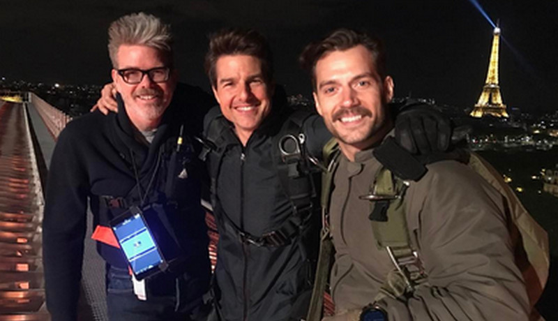 Henry Cavill dan Tom Cruise (Foto: Instagram)