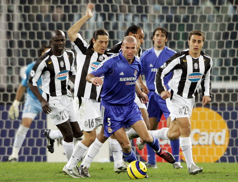 Juventus berimbang dengan Madrid. (Foto: AFP)