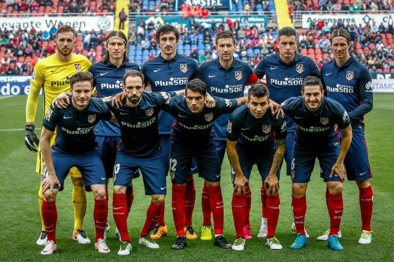 Atletico miliki catatan lumayan di Liga Champions. (Foto: AFP/Biel Alino)