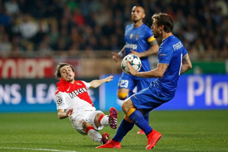 Marchisio saat bertemu Monaco pada 2015. (Foto: AFP)