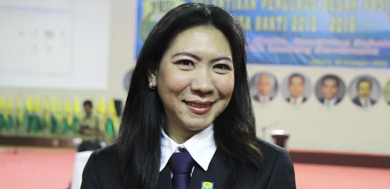 Susi Susanti motivasi atlet putri Indonesia. (Foto: PBSI)