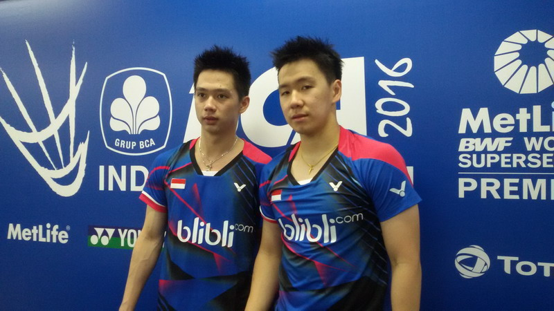 Kevin/Marcus absen di Kejuaraan Asia. (Foto: Zanel/Okezone)