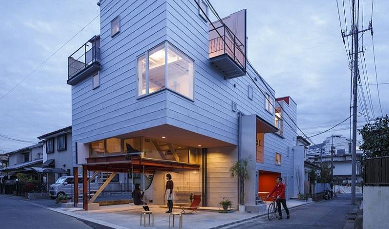 \Arsitek Jepang Rancang Apartemen yang Mampu Optimalkan Cahaya dan Udara\