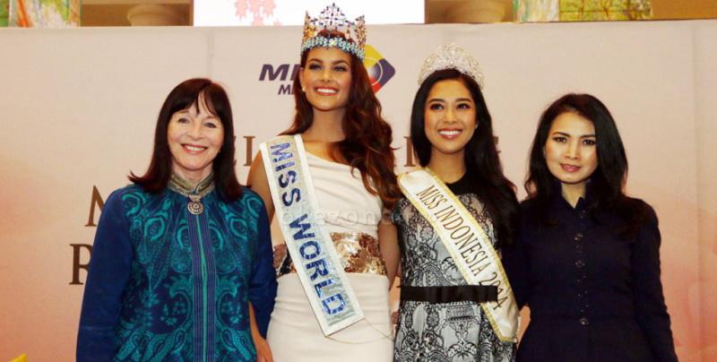 MISS INDONESIA 2017: Menang di Miss World 2017, Ini yang Harus Disiapkan Menurut Chairwoman Miss World Organization