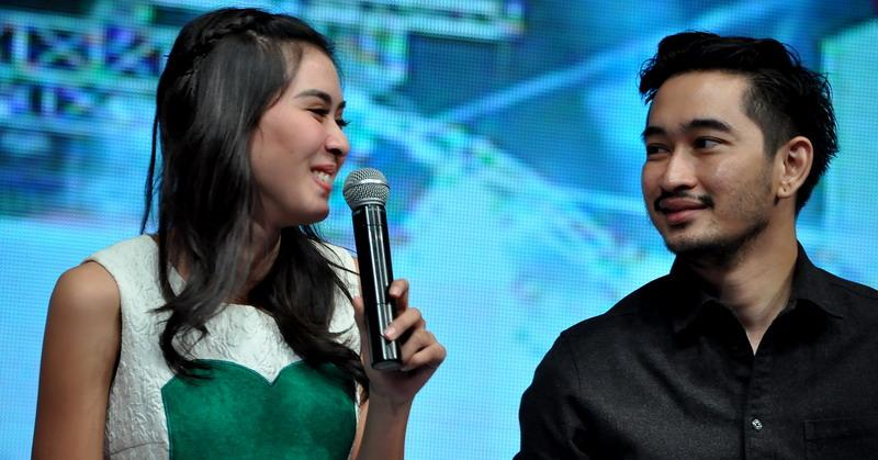 Syahnaz dan Jeje (Foto: Okezone)